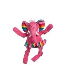 HuggleHounds Rainbow Elephant Knottie Large