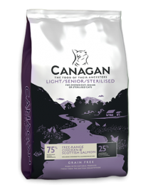 Canagan light/senior kat 4 kg
