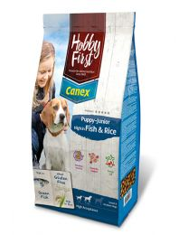 Hobbyfirst Puppy-Junior Fish & Rice 12 kg